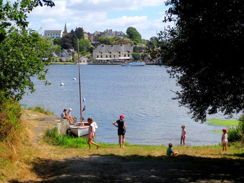 Vue Sur Le Port De La Roche Bernard Morbihan Damgan La Roche