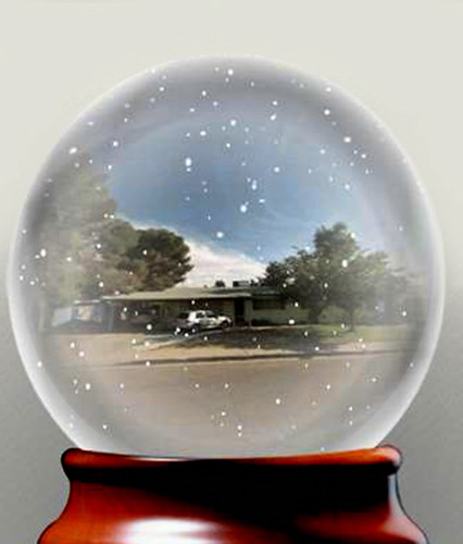 See Your House In A Snow Globe My Friend Sent This Link