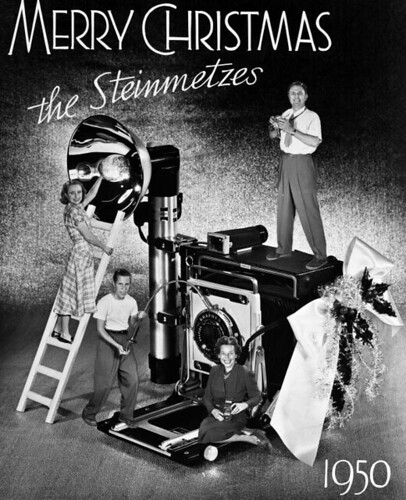 Steinmetz Family Christmas Card, 1950 | by State Library and Archives of Florida