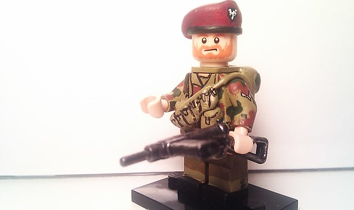 Lego Custom Minifigure Wwii British Sas D Day Here Is A