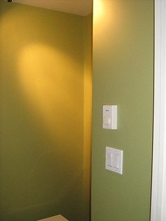 Moss Green Painted Rooms