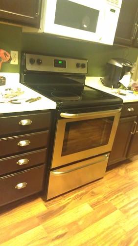White Kitchen Remodel Idea