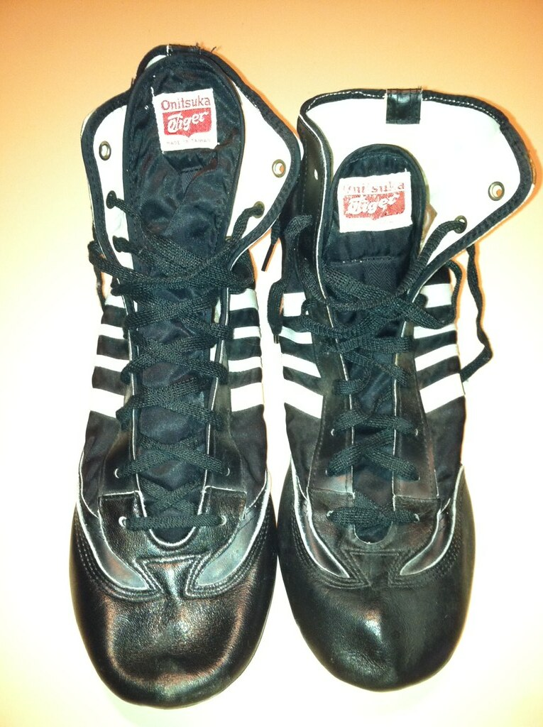 Onitsuka Tiger Wrestling Shoes White