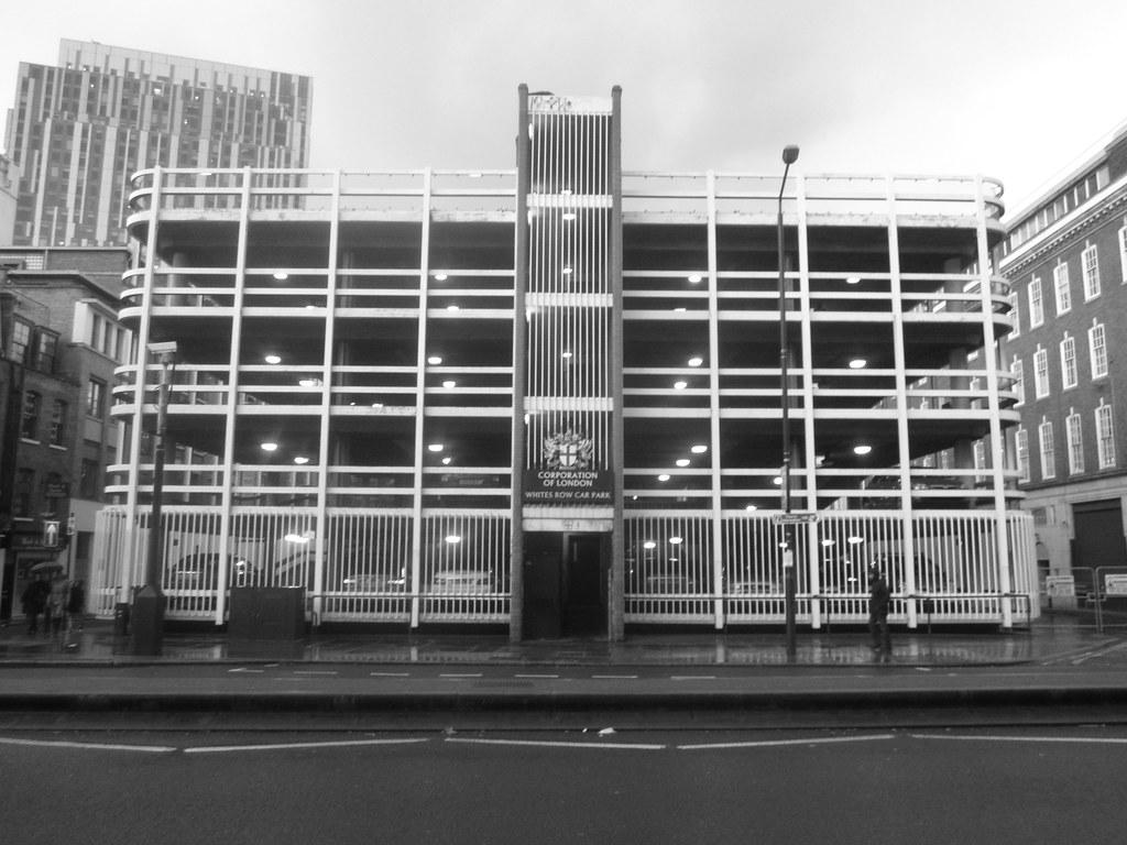 Spitalfields Car Park Postcode
