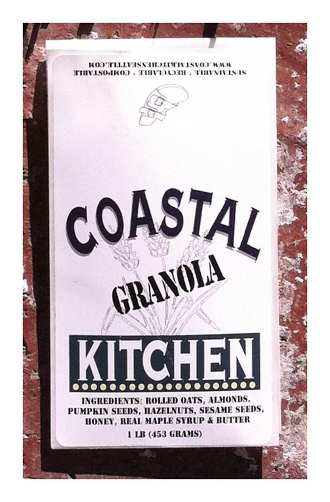 Coastal Kitchen With Dark Cabinets