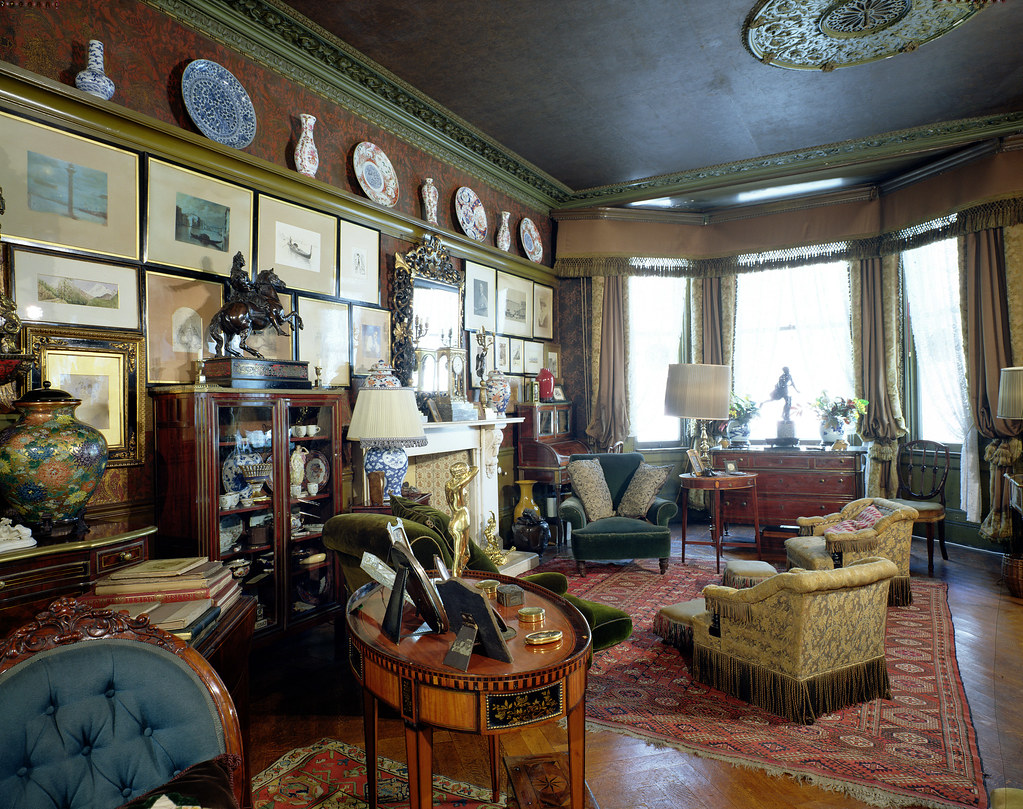 Decorating Victorian Homes 18 Stafford Terrace Rbkc Museums Service Flickr