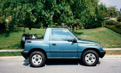Cars I Have Owned  1997 Geo Tracker 4x4 2
