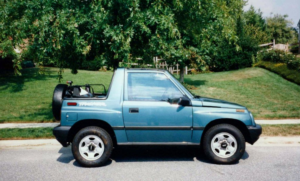 Cars I Have Owned 1997 Geo Tracker 4x4 2 Door Convertible