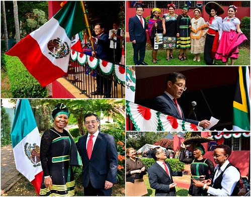 Conmemoración del CCVI aniversario de la independencia de México