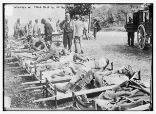 Wounded at Field Hospital on the Isonzo  (LOC) | by The Library of Congress