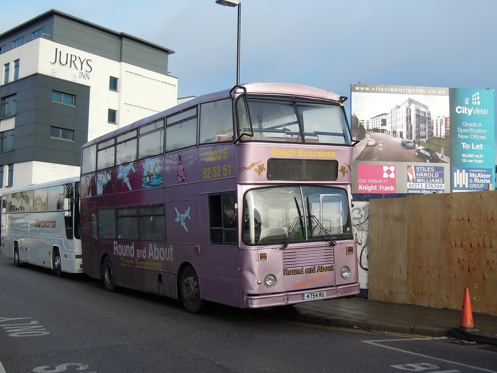 Tired Brighton Scania | Having been new to Brighton & Hove a… | Flickr