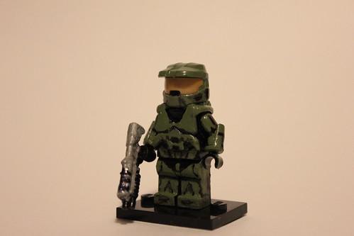 Lego Custom Master Chief | I finally made a custom Master ...