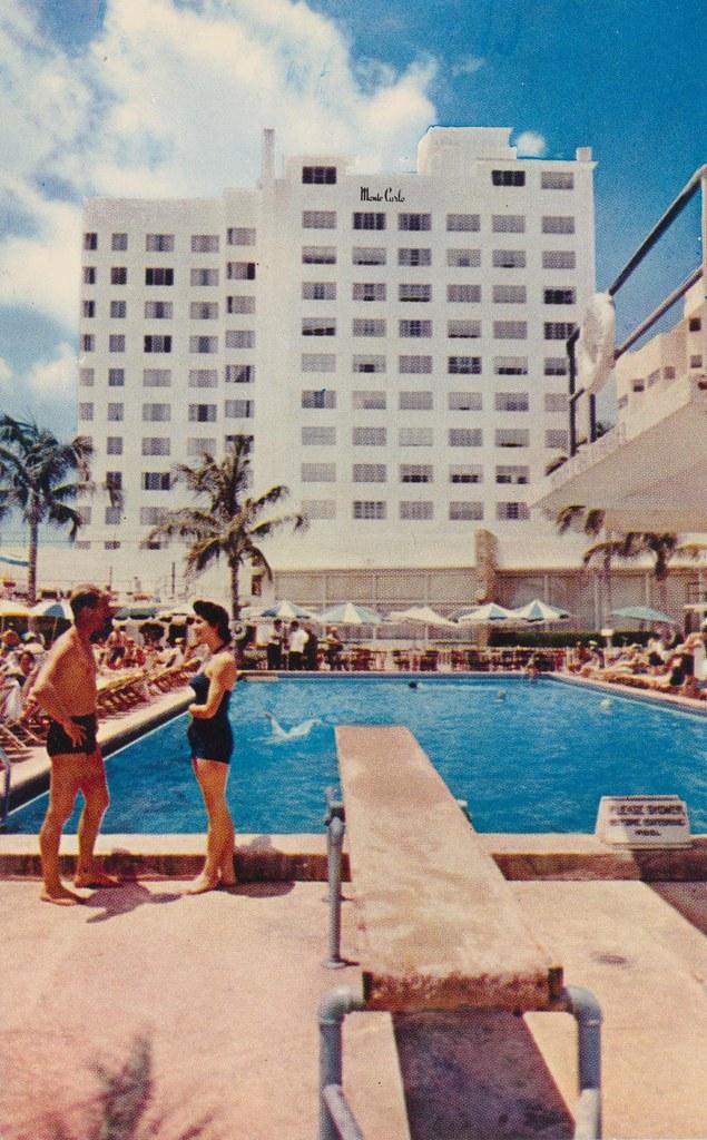 Monte Carlo Hotel - Miami Beach, Florida