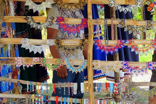 Aparador Tabaco Preto ~ Artesanato indígena do Panamá Amaro Alves Flickr
