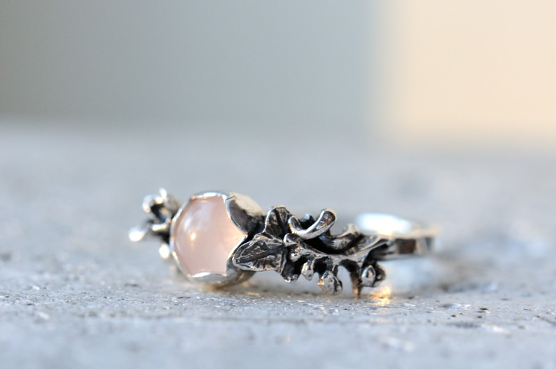 rose quartz wedding ring THAW2013 3 Custom order Details Flickr