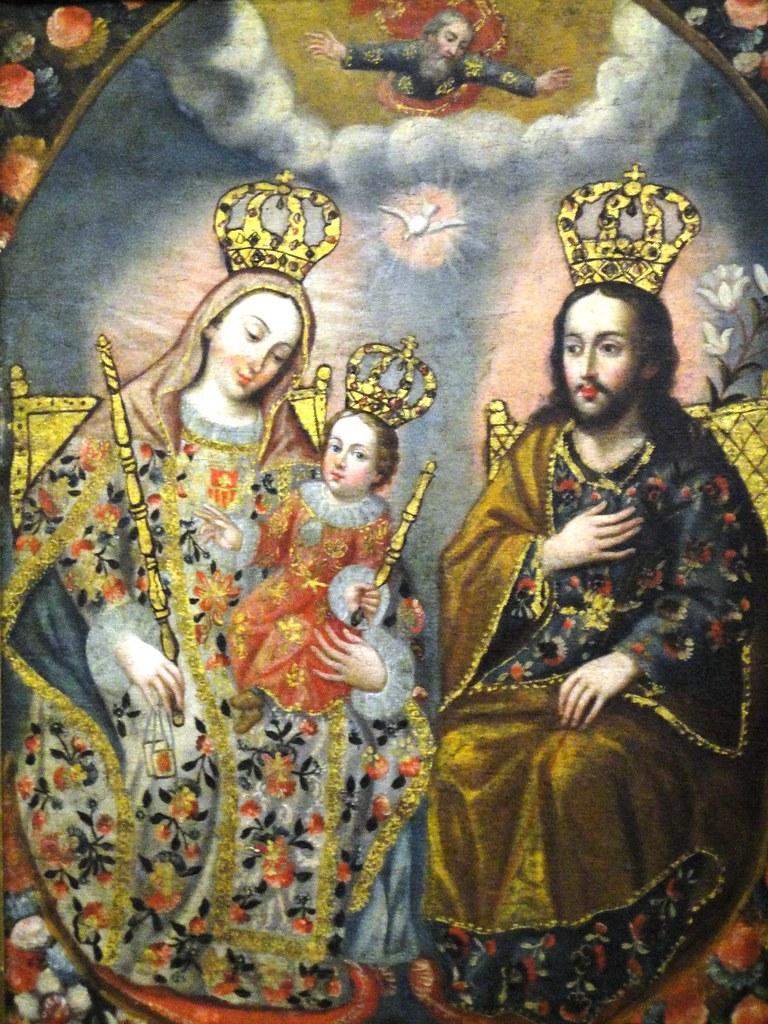 Sagrada familia pintura de antonio salas museo metropo - Pinturas para salas ...
