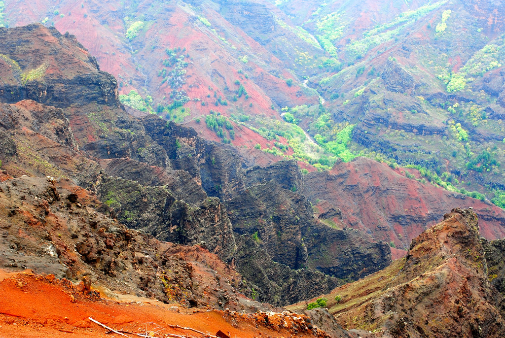 Waimea Canyon - Beautiful Landscape Of Untouched Nature