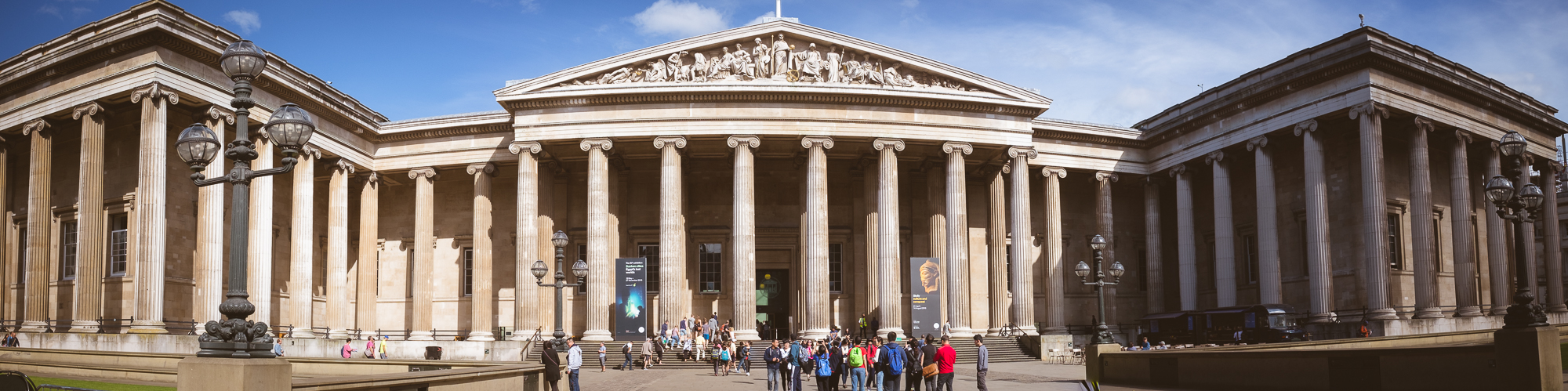 Entrada al British Museum.