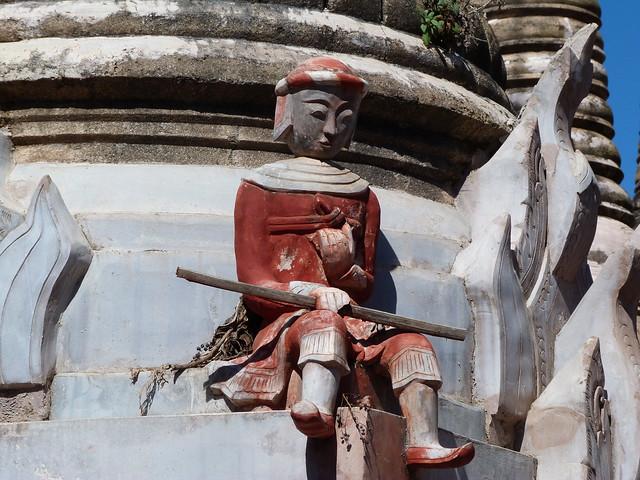Detalle en Kakku (Myanmar)