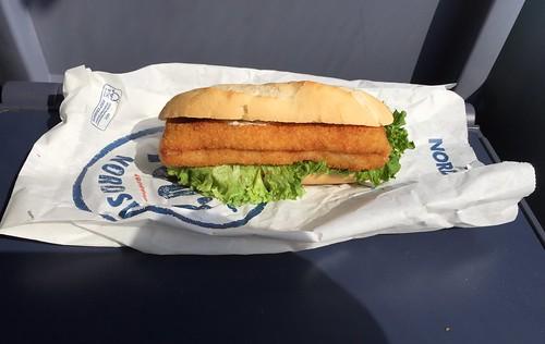 Nordsee Backfisch-Baguette