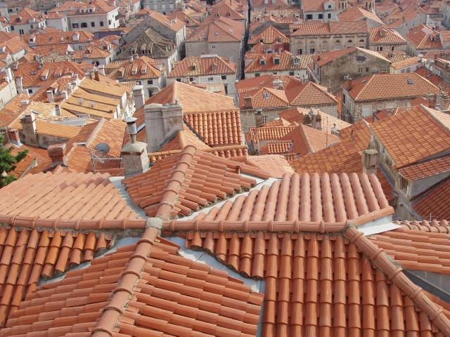 Tejados de Dubrovnik (Croacia)