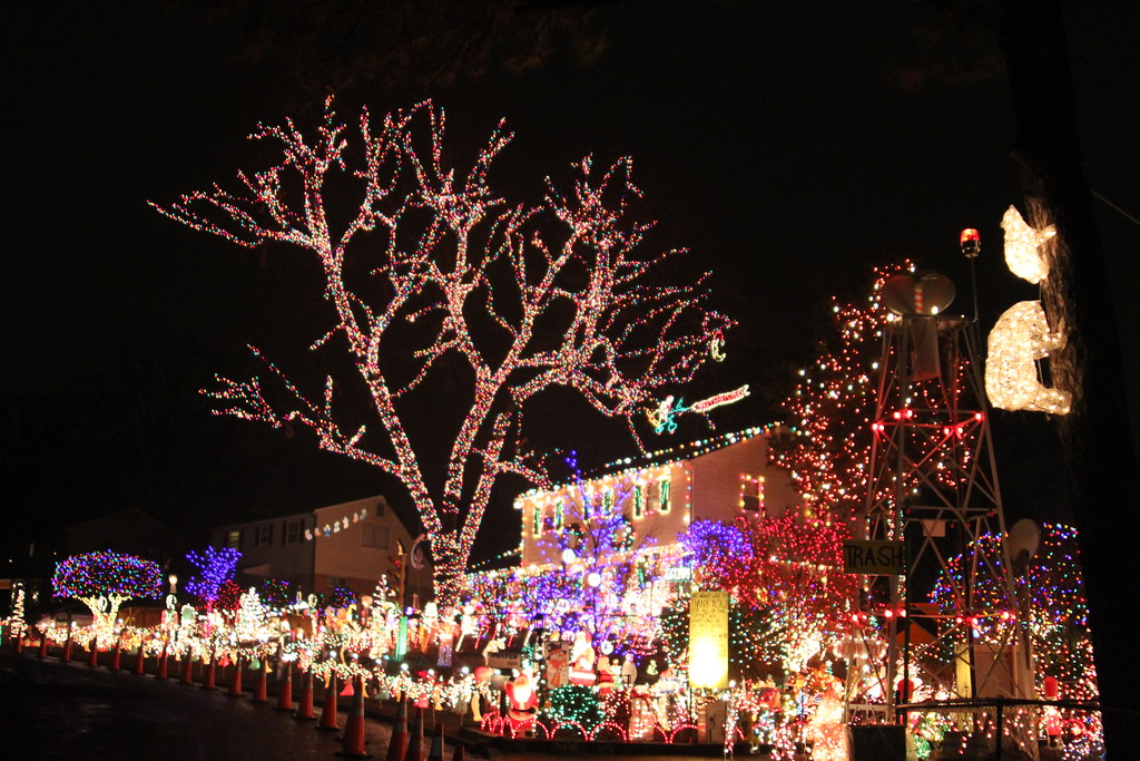 Tacky Lights Tour Charlottesville Va