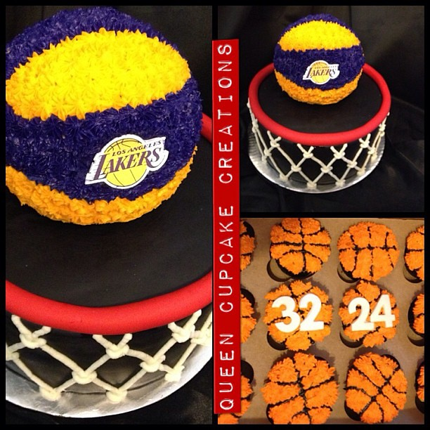 Lakers Cake Images