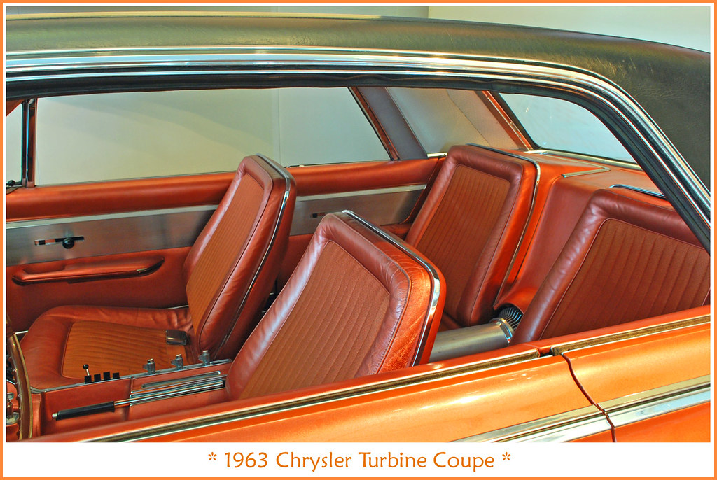 1963 chrysler turbine interior visit to the walter p chry flickr. Black Bedroom Furniture Sets. Home Design Ideas