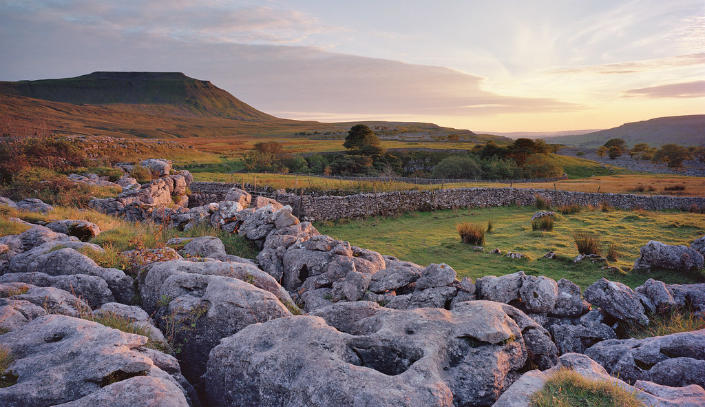 Tropical Island Beach Ambience Sound: Ingleborough & Southerscales Nature Reserve