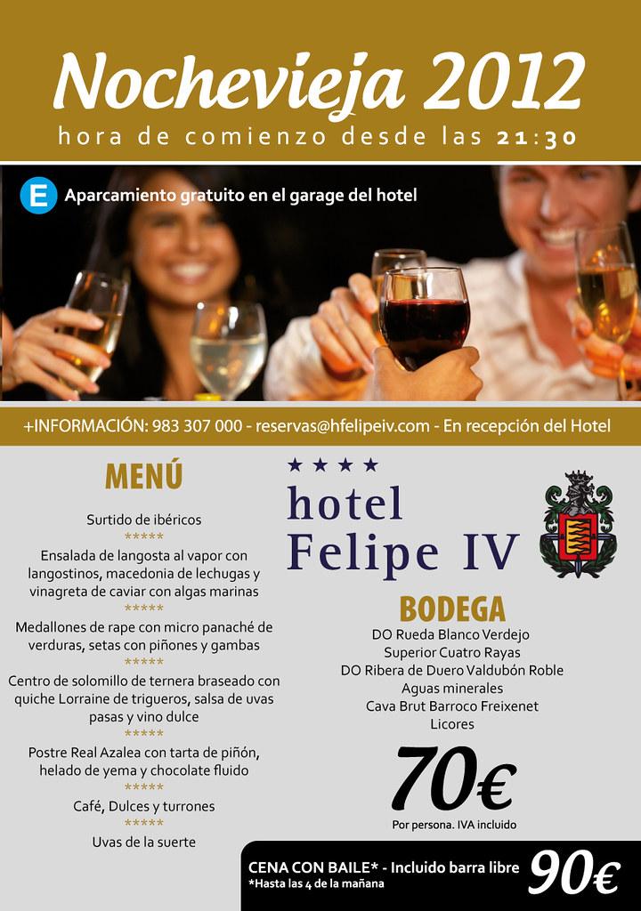 Cena de Nochevieja en el Hotel Felipe IV | Cena: 70€ Cena co… | Flickr