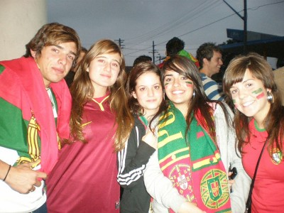 Portuguese People Portuguese Fans In The Euro