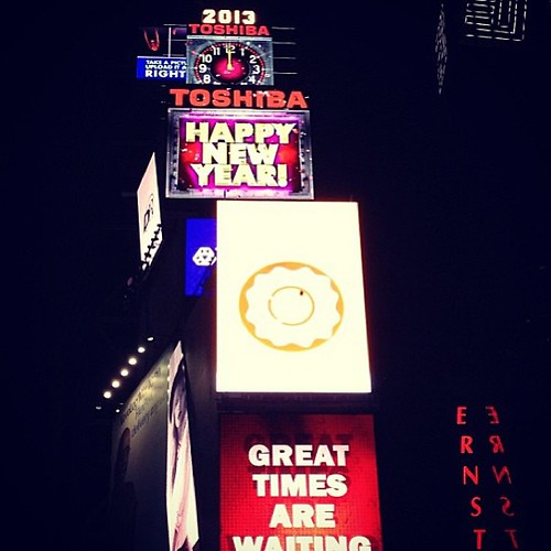 Time Square New Year 2018
