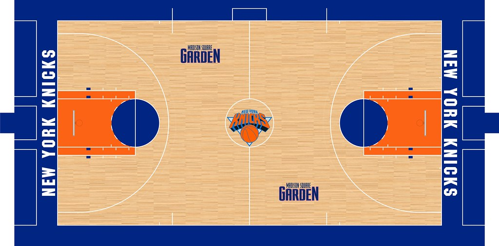 Madison Square Garden Iv 1995 1997 The Nba 3 Point