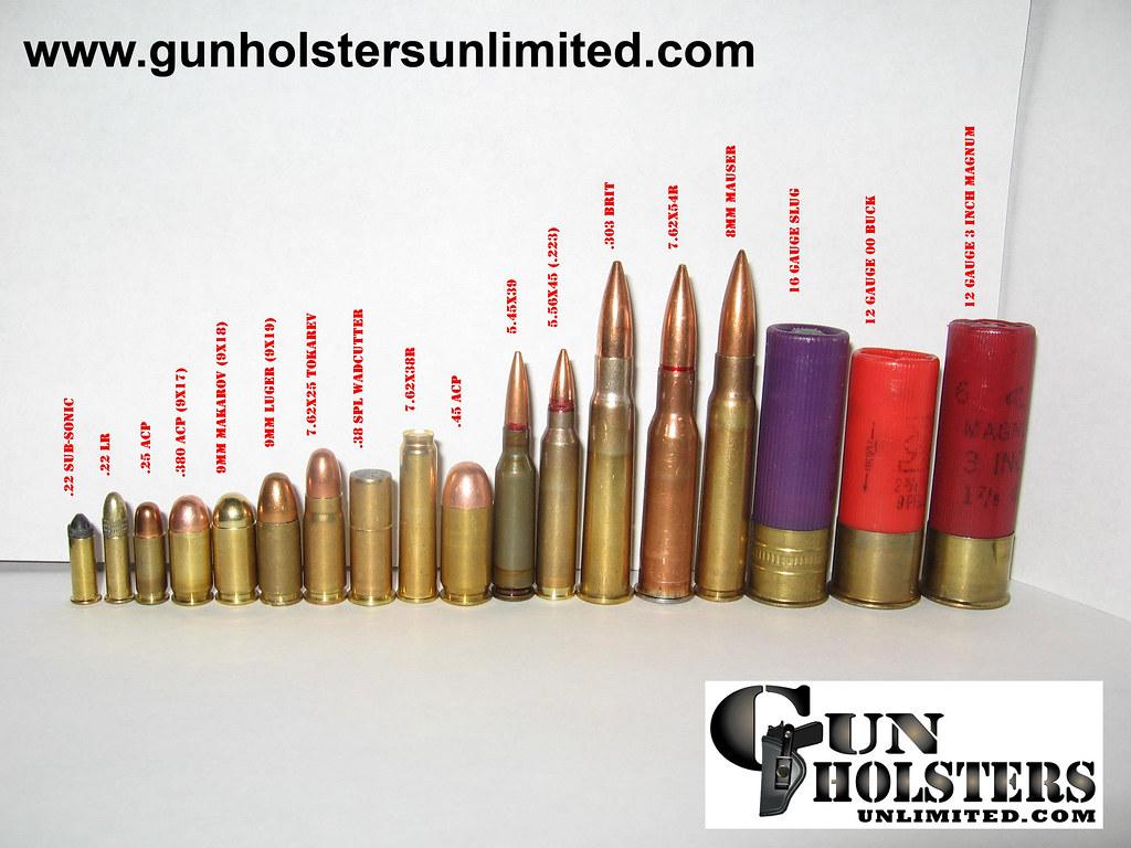 Ammo Size Chart Photo