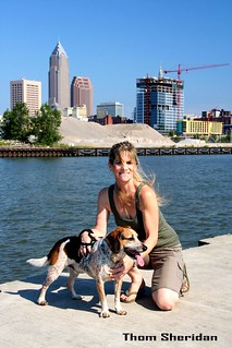 Laura and Charlie on the Cuyahoga | by Thom Sheridan