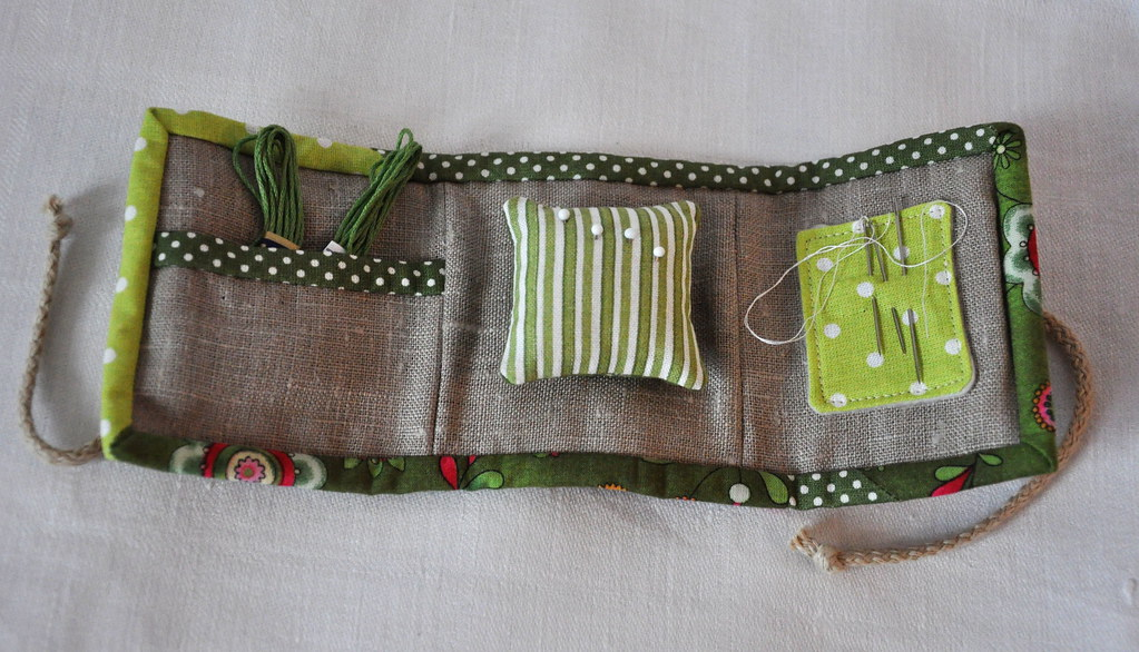 Travel Sewing Kit Pattern Rashida Coleman Hale I Love