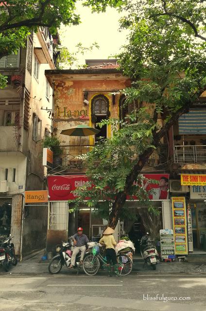 Hanoi Vietnam Street Scene