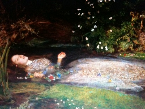 Painting On My Bedroom Wall Of Ophelia The Lady In The Lak