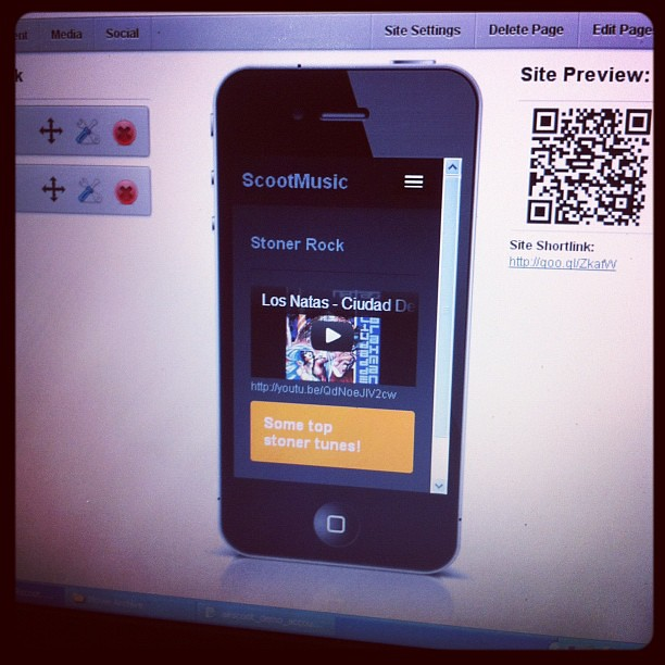 Mobile Site Builder Interface #wordpress #plugins #mobile