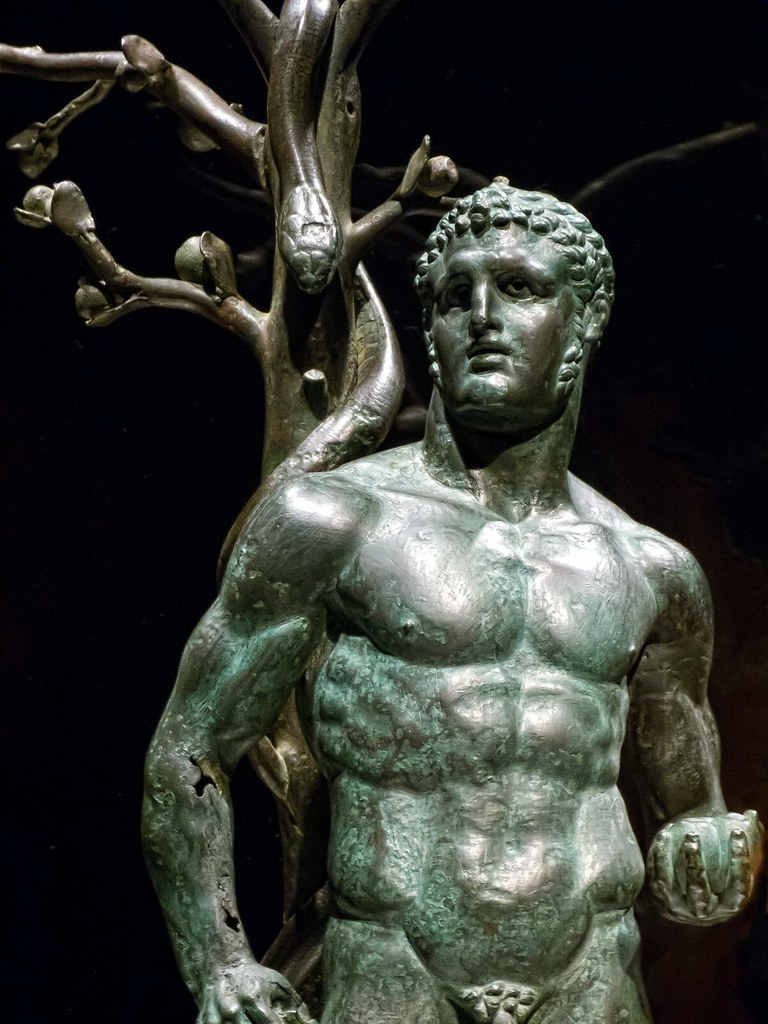 Herakles with the Appl...