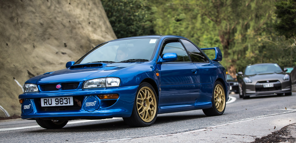 Subaru Impreza 22b Sti Ru9831 Is The Gtr Following To