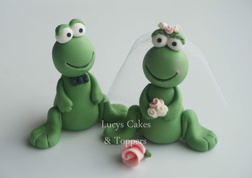 frog wedding cake toppers frog wedding engagement anniversary cake topper visit my 14499
