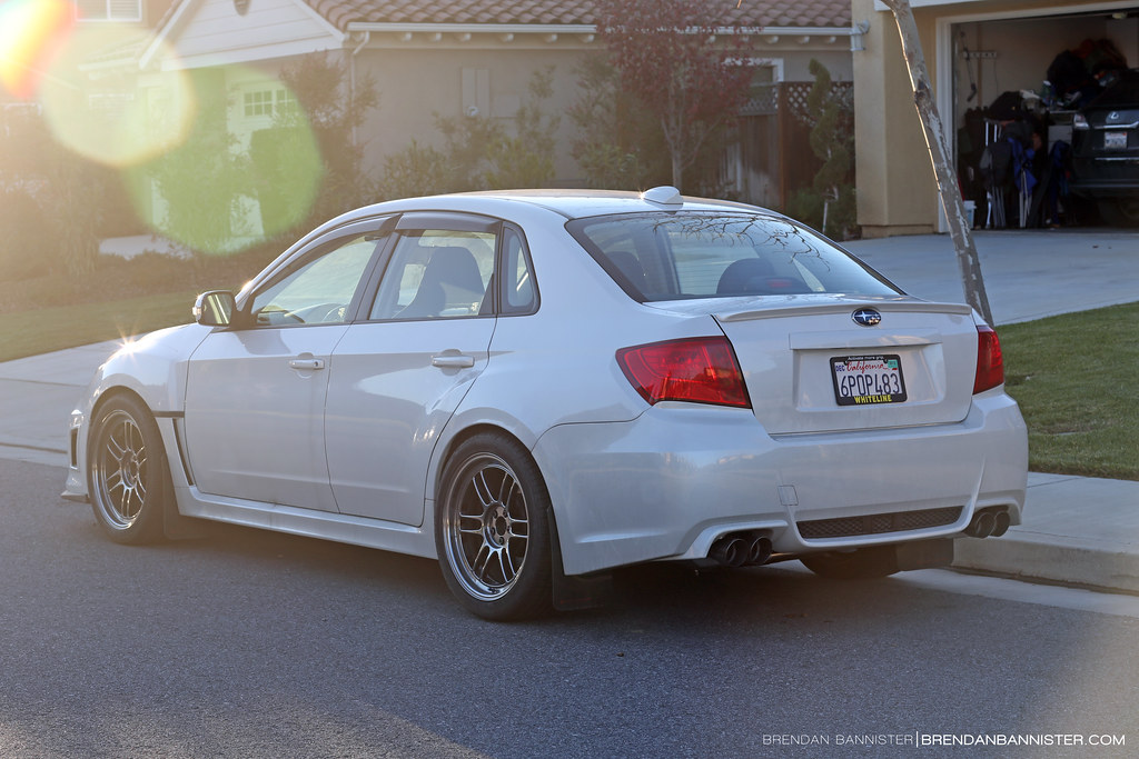 Subaru Wrx Forum >> 2011 WRX On Enkei RPF1 275/35 tire | Photo by brendan bannis… | Flickr