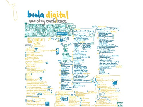 Biola Digital Conference sketchnote | by ARJWright