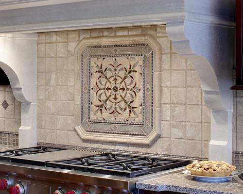 Kitchen backsplash ideas from drury design tumbled - Drury design kitchen bath studio ...