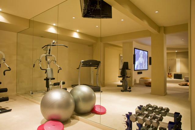 modern home gym fitness studio design my home decor flickr