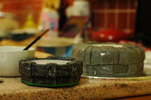 Portal Of Power Birthday Cake
