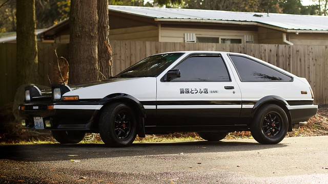 initial d sprinter trueno ae86 flickr photo sharing. Black Bedroom Furniture Sets. Home Design Ideas