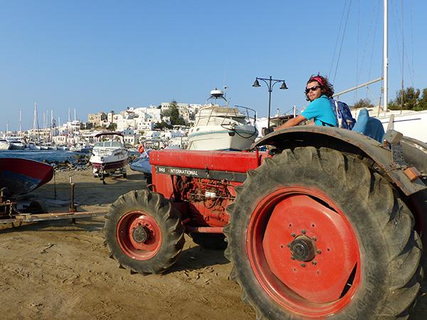 paul et son tracteur