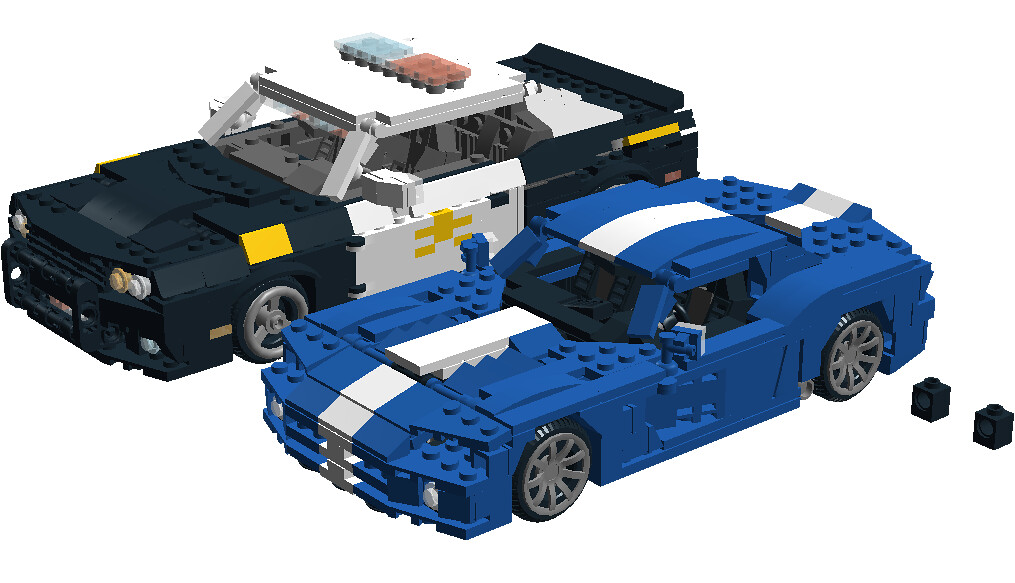 2008 Dodge Viper SRT10 & Challenger | To of my Lego Dodge ...